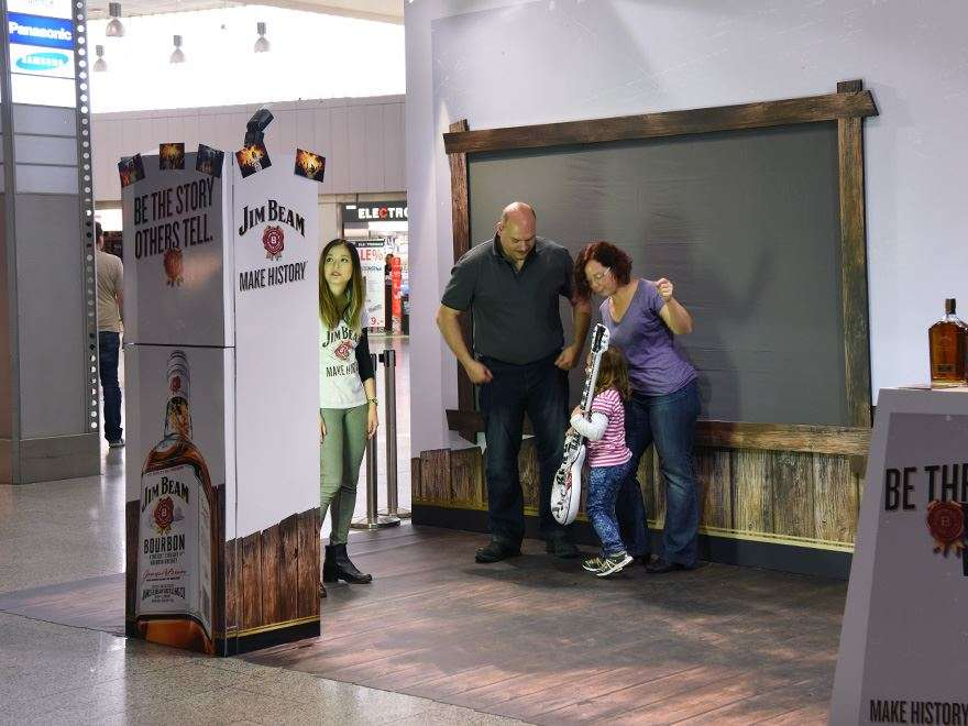 Branding Fotobox - Jim Beam