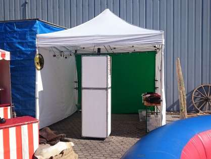 Photobooth im Eventzelt
