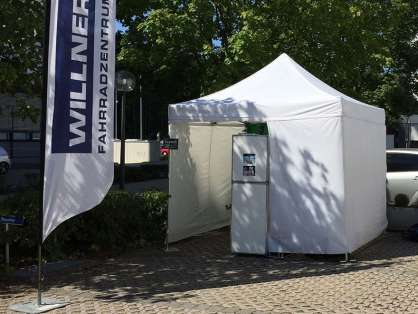 Photobox im Eventzelt