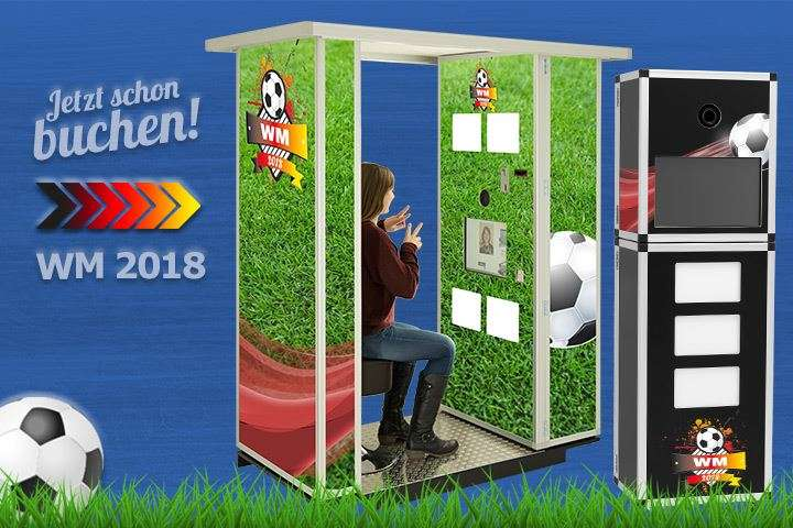 Fotobox - Photobooth mieten WM 2018