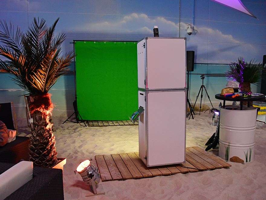 Fotobox Greenscreen